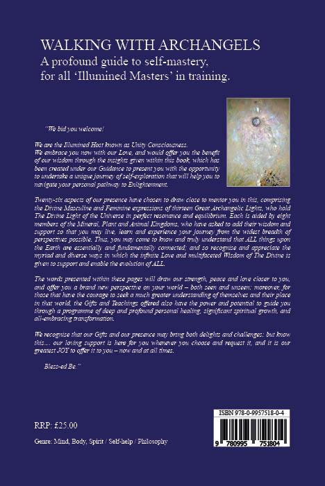 Walking with Archangels Back Cover